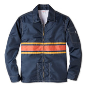 3StripeCompetitionJacket_Mens_Outerwear_NavyPaprikaGold_flat_lay_front