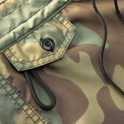 402BoardShorts_WOMENS_BOARDSHORTS-CLASSIC_CAMO_WA3402 Close Up Pocket View