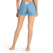 402BoardShorts_WOMENS_BOARDSHORTS-CLASSIC_FEDERALBLUE_WA3402 On Model back view