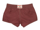 402 Burgundy Board Shorts - Back