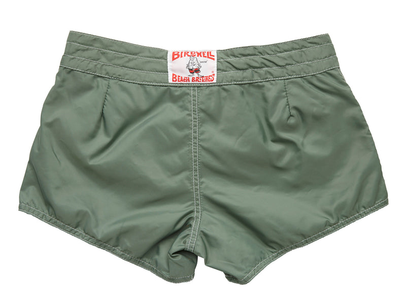 402 Olive Board Shorts - Back