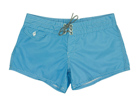 402 Sky Blue Board Shorts - Front