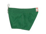 402 Dark Green Board Shorts - Left