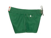402 Dark Green Board Shorts - Right