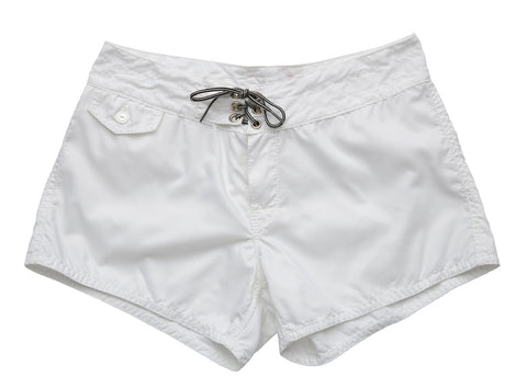 402 White Board Shorts - Front