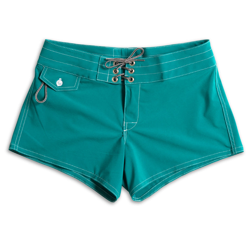 404 Board Shorts - Emerald Green