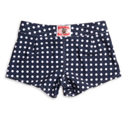 404 Board Shorts - Navy & White Polka Dot