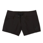 404PeaceBlackout_Womens_Boardshorts_Black_front