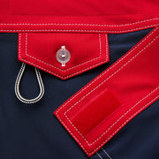 406_WOMENS_BOTTOMS_NAVYRED_WA3406 Close Up Velcro Detail