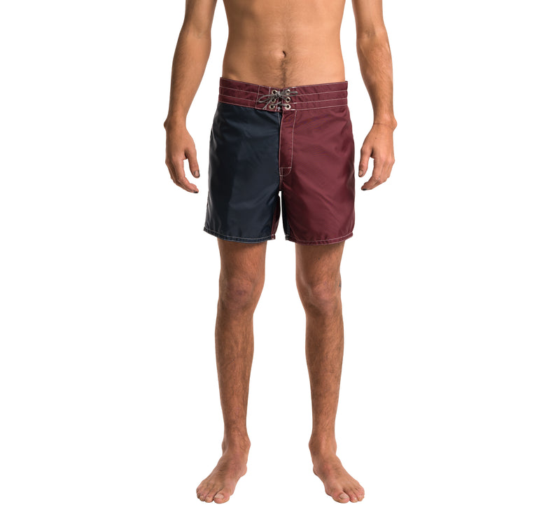310 Limited-Edition Board Shorts - Burgundy & Navy