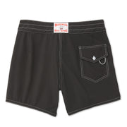 807BoardShorts_MENS_BOARDSHORTS-CLASSIC_BLACK_MA3807 Flat Lay Back View