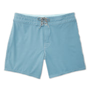807BoardShorts_MENS_BOARDSHORTS-CLASSIC_FEDERALBLUE_MA3807 Flat Lay Front View