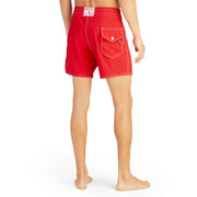 807BoardShorts_MENS_BOARDSHORTS-CLASSIC_RED_MA3807 On Model Back View