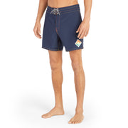807Limited-Edition_MENS_BOARDSHORTS_Navy_MA3807 On Model Front View