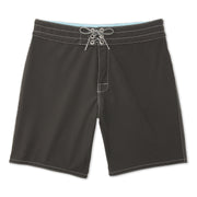 808BoardShorts_MENS_BOARDSHORTS-CLASSIC_BLACK_MA3808 FLat Lay Front View