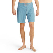 808BoardShorts_MENS_BOARDSHORTS-CLASSIC_FEDERALBLUE_MA3808 On Model Front View