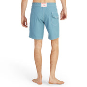 808BoardShorts_MENS_BOARDSHORTS-CLASSIC_FEDERALBLUE_MA3808 On Model Back View