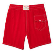 808BoardShorts_MENS_BOARDSHORTS-CLASSIC_RED_MA3808 Flat Lay Back View