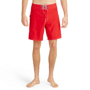 808BoardShorts_MENS_BOARDSHORTS-CLASSIC_RED_MA3808 On Model Front View