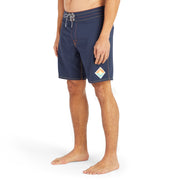 808Limited-Edition_MENS_BOARDSHORTS_Sunset-Navy_MA3808 On Model Front View