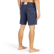 808Limited-Edition_MENS_BOARDSHORTS_Sunset-Navy_MA3808 On Model Back View