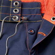 808Limited-Edition_MENS_BOARDSHORTS_Sunset-Navy_MA3808 Close Up Fly View