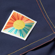 808Limited-Edition_MENS_BOARDSHORTS_Sunset-Navy_MA3808 Close Up Patch View