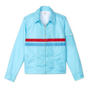 Avalon Competition Jacket-Light Blue-Womens Flat Lay Front View