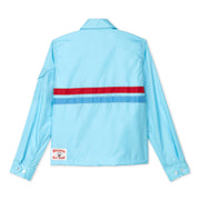Women's Avalon Competition Jacket - Light Blue Back Front Lay View