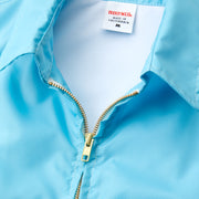 Women's Avalon Competition Jacket - Light Blue Zipper