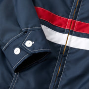 Women's Avalon Competition Jacket - Navy Sleeve Cuff View
