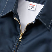 Women's Avalon Competition Jacket - Navy Zipper View