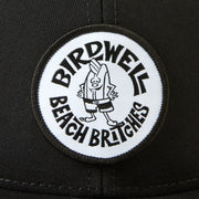 Birdie Black/White Circle Hat - Black