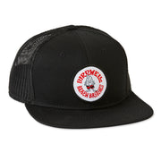 Birdie Circle Hat - Black/Red