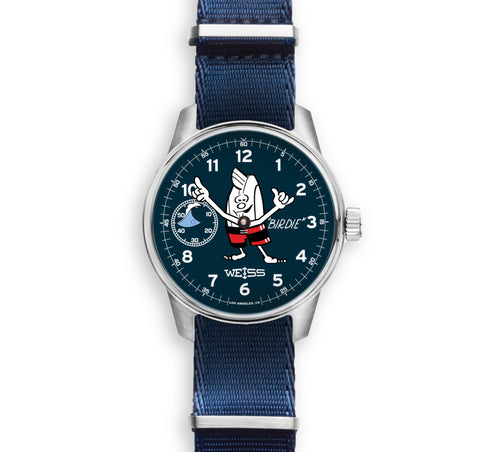 "Collector's Edition ""Birdie"" Surf Watch - Navy"