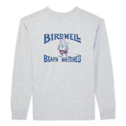 Birdwell Long Sleeve T-Shirt - Heather Grey