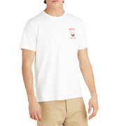 BirdwellTShirt_MENS_T-SHIRT_WHITE_MA1001 On Model Front View