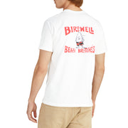 BirdwellTShirt_MENS_T-SHIRT_WHITE_MA1001 On Model Back View