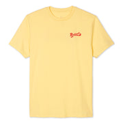 BirdwellWaveSS_Men_s_TShirts_AntiqueYellow_flat_lay_front