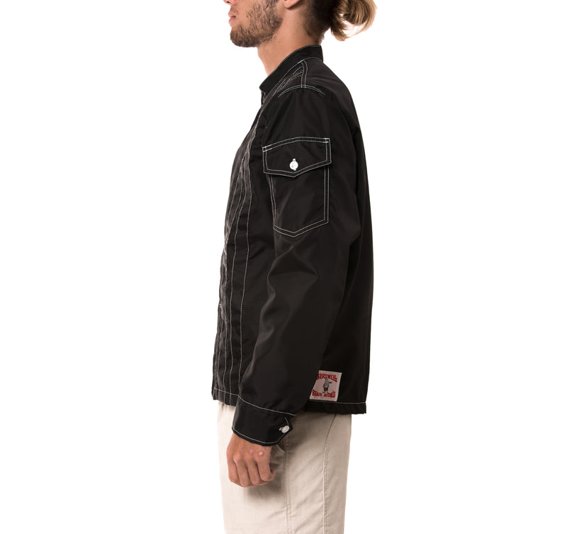 Racing Jacket - Black & Black