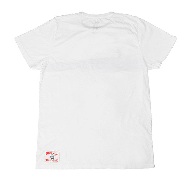 White Hang 5 Graphic T-Shirt - Back