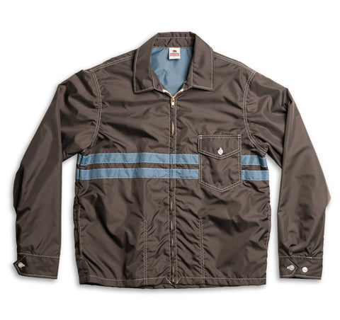 Mens Competition Jacket - Brown & Federal Blue