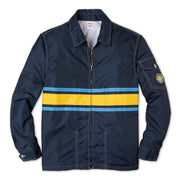 Comp3StripeJacket60thAnniversary_Mens_Outerwear_NavyYellowSky_flat_lay_front