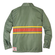 Comp3StripeJacket60thAnniversary_Mens_Outerwear_OliveYellowPap_flat_lay_back
