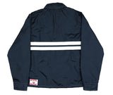 Navy & White SurfNyl Men's Competition Jacket - Back