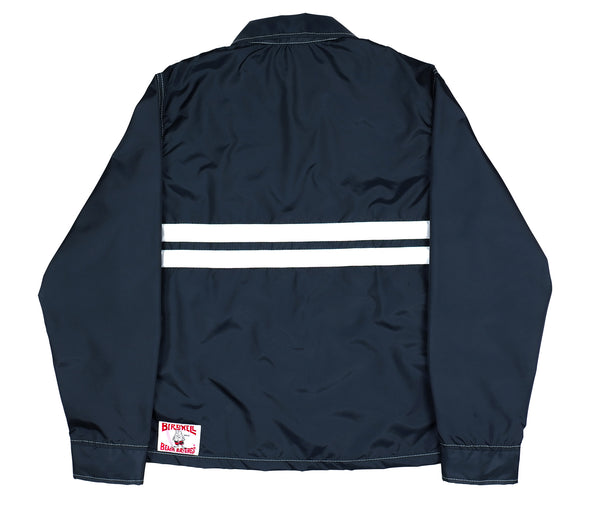 Mens Competition Jacket Navy & White