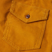 CordShorts_MENS_WALKSHORTS_GOLD_MA4006 Close Up Pocket Detail