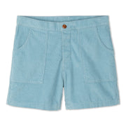 Corduroy Shorts - Light Blue