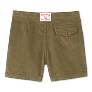 CorduroyShorts_MENS_SHORTS_OLIVE_MA4006 Flat Lay Back View
