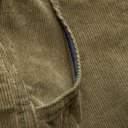 CorduroyShorts_MENS_SHORTS_OLIVE_MA4006 Close Up on Side Pocket
